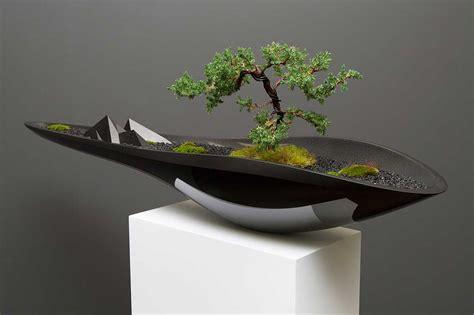 bonsai vaso equil 237 brio entre o antigo e o moderno num vaso para bonsai