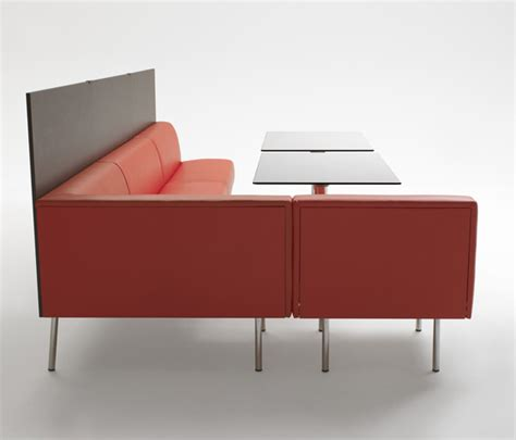 Freestanding Banquette Seating by Segis Terminus Banquette Seating Design Iq