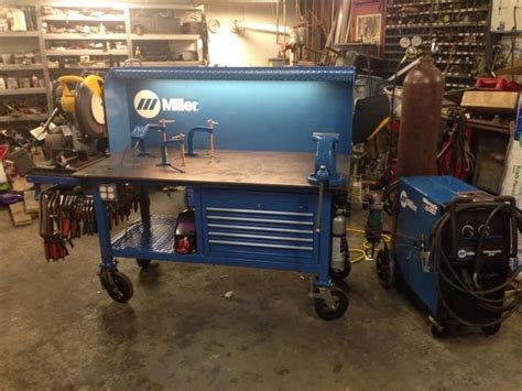 miller welding bench miller welding table metal chop saw vise jigging table