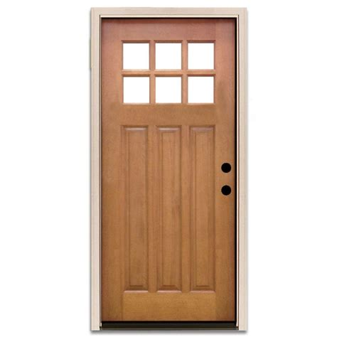 Alder Doors With Glass Wood Doors The Home Depot Doors With Glass