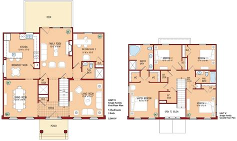 floor plans for a 5 bedroom house rossell village 01 05 w1 w4 the villages at belvoir