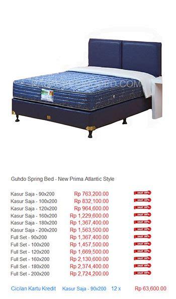Bed Comforta Medan kasur guhdo harga bed termurah di indonesia