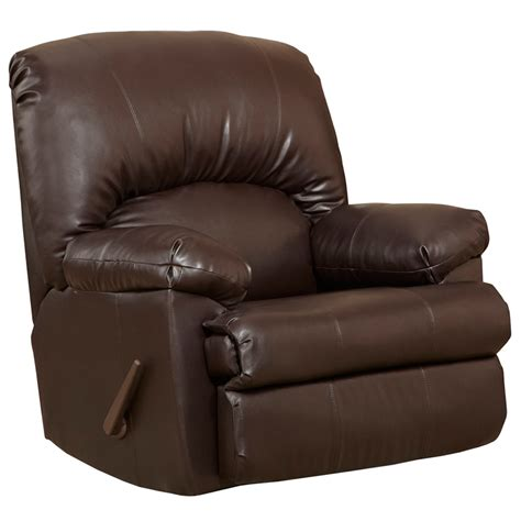 contemporary rocker recliner contemporary ty chocolate leather rocker recliner