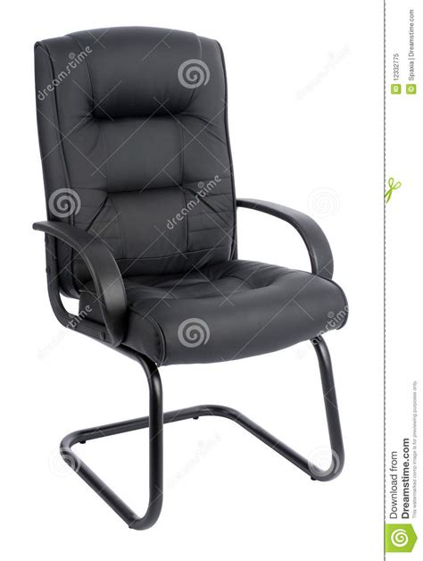 Leather Office Armchair by Office Armchair Of Leather Royalty Free Stock Photo