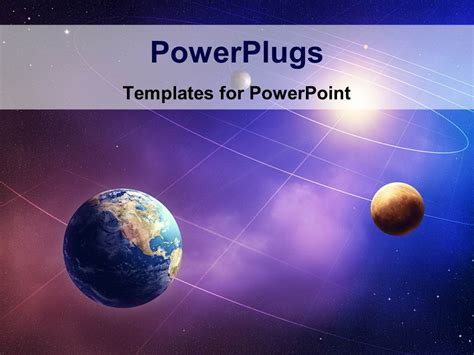 Solar System Powerpoint Template Powerpoint Template Inner Four Solar System Planets Furnished By Nasa 26748