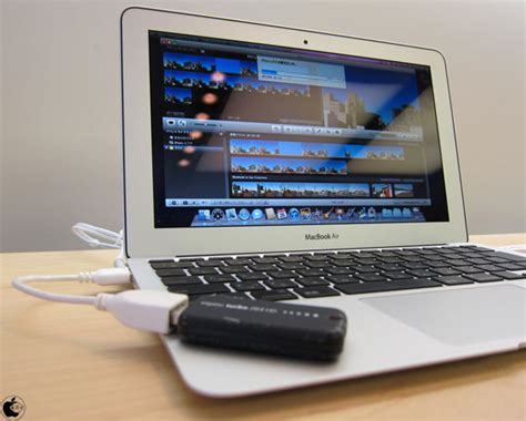 tutorial imovie macbook air macbook air 11 inch late 2010 と turbo 264 hdの組み合わせで