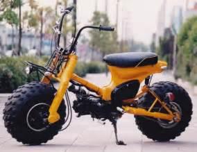 Honda 90 Trail Bike Tires Honda Cub 90 With Tires By Custom Bike Light