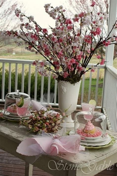 cherry blossom table decorations 19 awesome ideas how to enter freshness in your home with