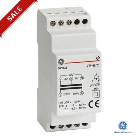 Trafo Bell tr b10 001 665902 general electric bell trafo series 10va