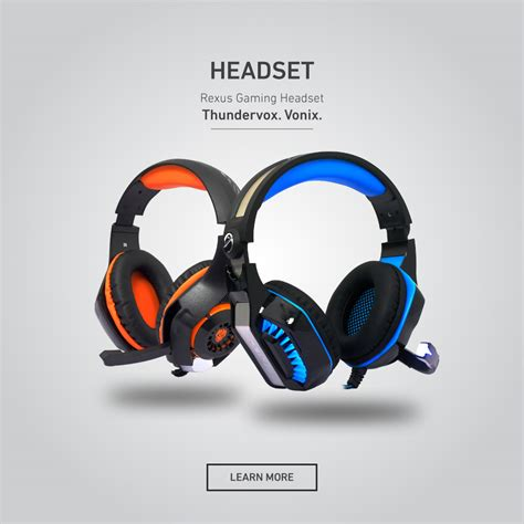 Rexus Hx2 Headset Gaming Thundervox Surround 7 1 With Mic Led Hx 2 rexus 174 official site everyone is gamers keyboard