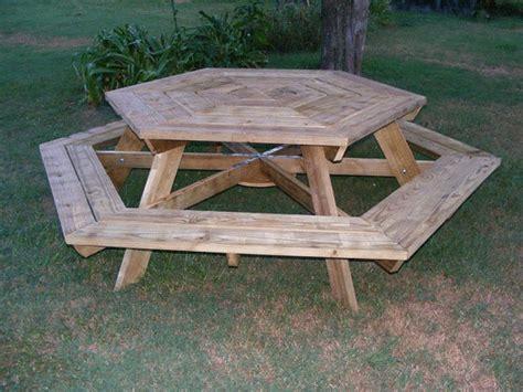 download hexagon picnic table plans build pdf gun cabinet