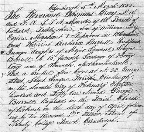Edinburgh Birth Records Poser 334 Question
