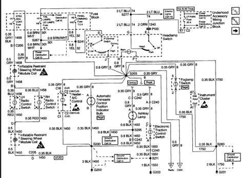 1999 buick century wiring diagram 1999 buick century no daytime running lights and no