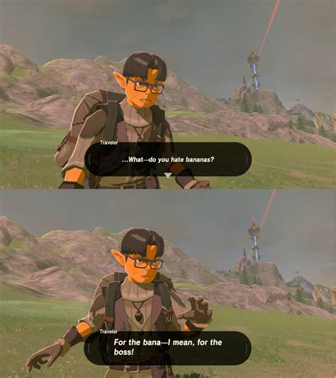 botw spoilers i guess we know where his loyalties lie