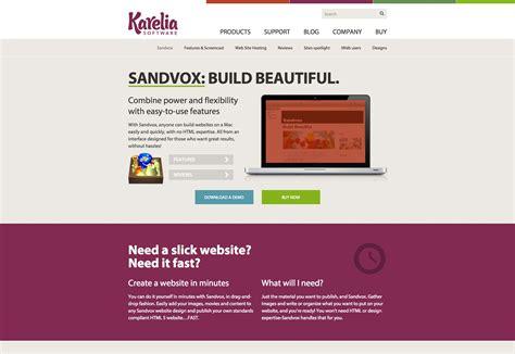 25 Fresh Tools For Web Design Webdesigner Depot Sandvox Pro Templates