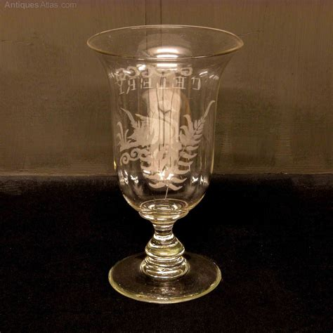 Antique Glass by Antiques Atlas Glass Celery Vase