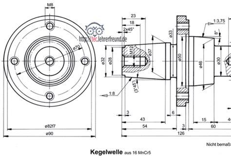 Schnittdarstellungen In Technischen Zeichnungen by Schnittdarstellungen Tec Lehrerfreund