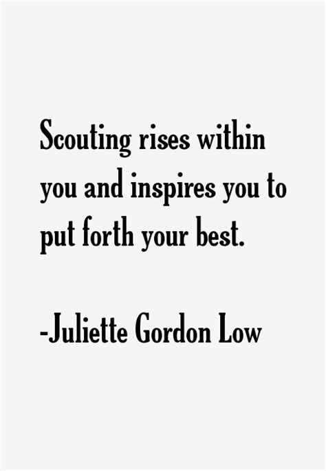 juliette gordon  quotes sayings