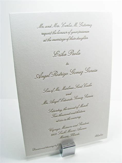 traditional wedding invitations digby invitations dc