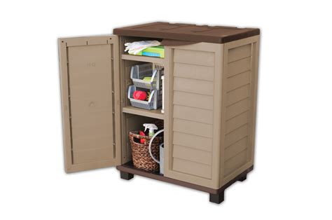 Garden Indoor Outdoor Garage Storage Low Utility Cabinet Outdoor Storage Shelves