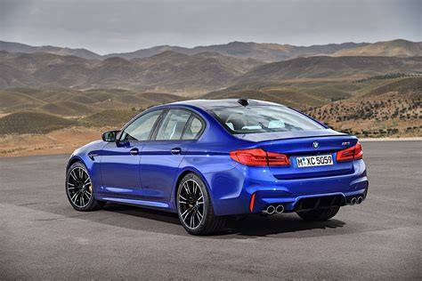first bmw m5 2018 bmw m5 unveiled with 600 ps awd and rwd autoevolution