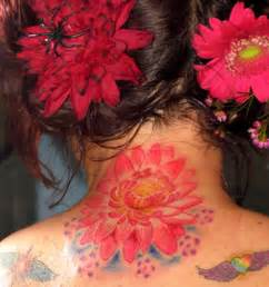 Lotus Flower Neck Michele Wortman Tattoos Flower Lotus Lotus Flower On
