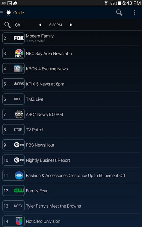 tivo app for android tivo android app gets complete redesign and onepass in version 3 0