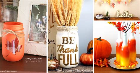 decoration ideas to make at home 30 diy thanksgiving decoration ideas to setup a fall