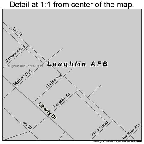 afb in texas map laughlin afb texas map 4841704