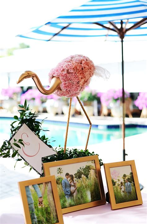 Beth's Flamingo Inspired Baby Shower | Palm Beach Lately Kids Room Wallpaper Pattern