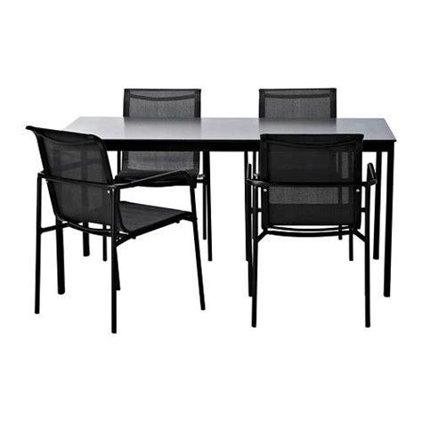 Patio Furniture Sets Ikea Garpen Table And 4 Armchairs Ikea Patio Furniture