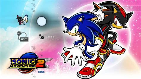 theme psp sonic how to get the exclusive sonic adventure 2 ps3 theme from