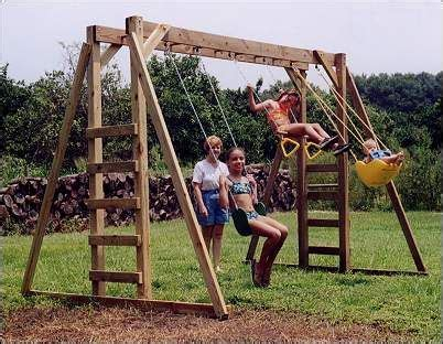 swing set kits and plans the 25 best wooden swing set kits ideas on pinterest