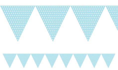 Girlande Wimpel by Wimpel Girlande Pastell Blau