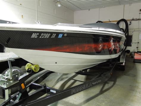 formula boats in michigan 2006 formula fastech powerboat for sale in michigan