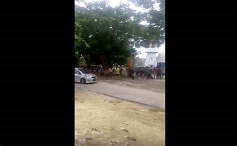 Alarm Mobil Pekanbaru detik detik ratusan tahanan kabur dari rutan