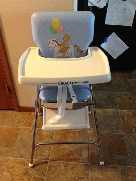 graco high chair late 80 s baby favorites