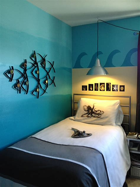 ocean theme bedroom tween gets an ocean themed room the martha project