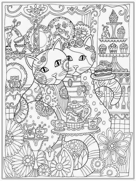 cat coloring pages for adults bestofcoloring com cat coloring pages for adults bestofcoloring cat coloring