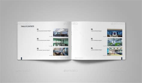 portfolio design template interior design portfolio template by habageud graphicriver