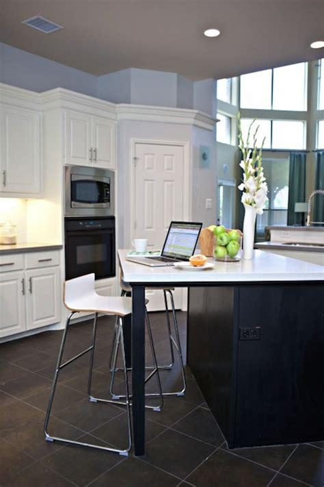 Black Slate Kitchen Floor Design Ideas