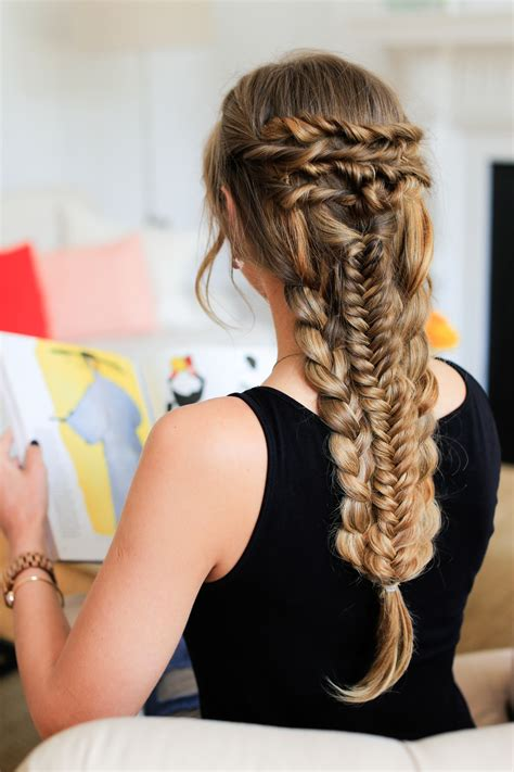 luxy hair extensions hairstyles layered braid hairstyle tutorial luxy hair