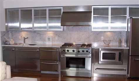 kitchen cabinets stainless steel stainless steel kitchen cabinets steelkitchen