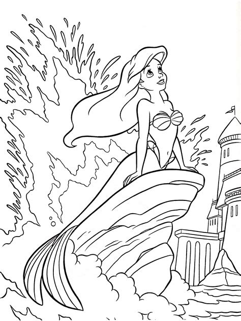 frozen mermaid coloring pages free coloring pages of elsa as a mermaid