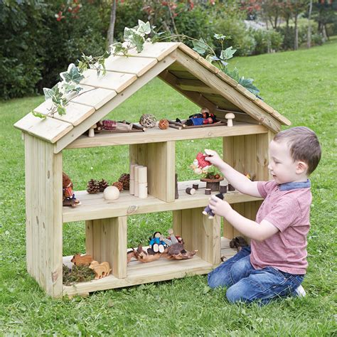 backyard dollhouse buy outdoor wooden dolls house tts
