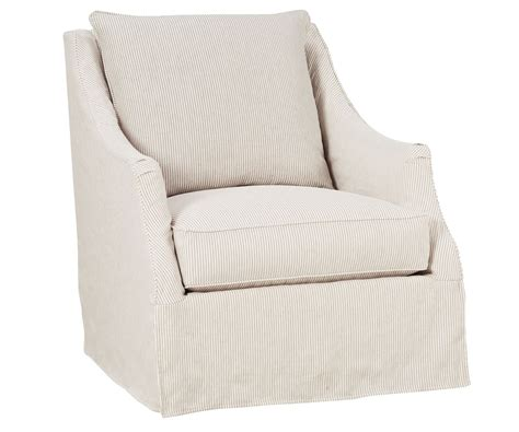 Slipcovers For Swivel Chairs giuliana quot designer style quot swivel slipcover chair slipcovered accent chairs and chaises
