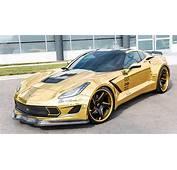 Gold Wrapped Corvette Stingray  GM Authority
