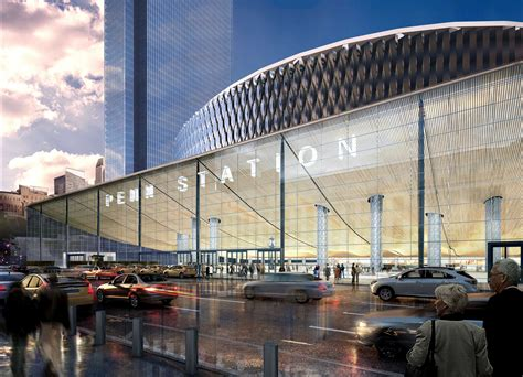 Penn Station Square Garden by Penn Station S 3b Renovation Plans Revealed Curbed Ny