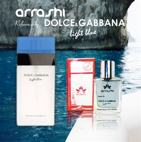 Harga Dolce Gabbana Perfume arrashi reference by dolce gabbana light blue jual
