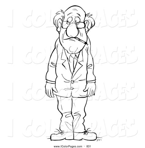 sad person coloring page sad man free colouring pages